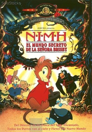 NIMH El mundo secreto de la señora Brisby (The Secret of NIMH, 1982)