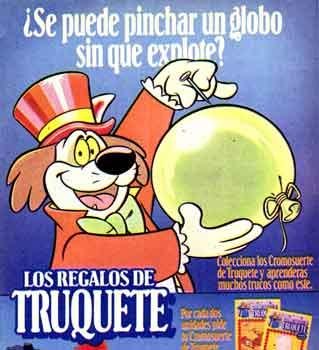 Truquete, el perro mago de Danone