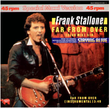 "Hits musicales de los 80, hoy: ""Far from over"" de Frank Stallone"
