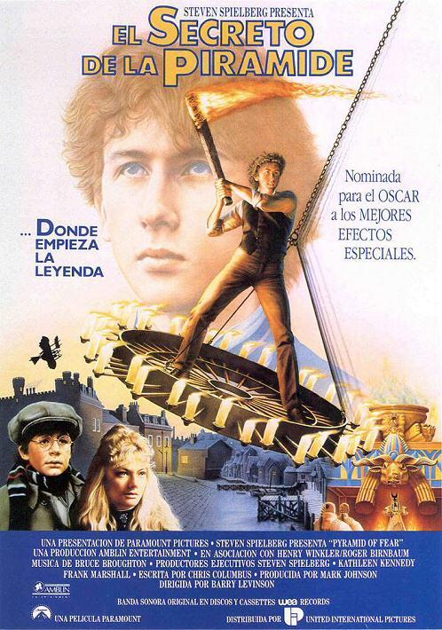 El secreto de la pirámide (Young Sherlock Holmes 1985)