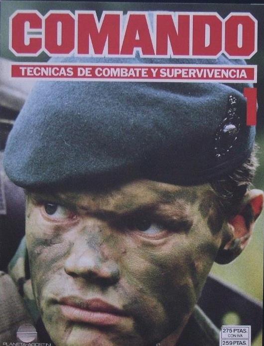 Comando: «Técnicas de combate y supervivencia»