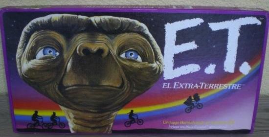 La foto de la semana: E.T el extra-terrestre (juego de mesa)