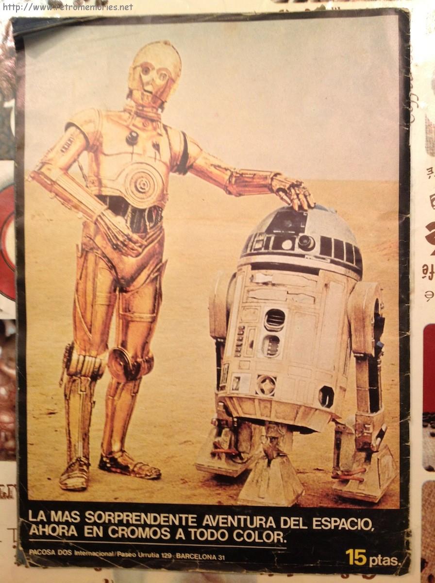 Joyas encontradas: Álbum de cromos «La guerra de las galaxias» (1977)
