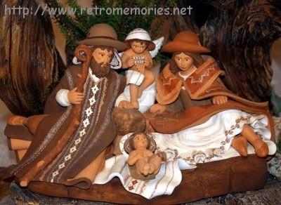Imagenes Sagrada Familia Navidad.8269025 Natividad Con La Sagrada Familia En Un Pesebre En
