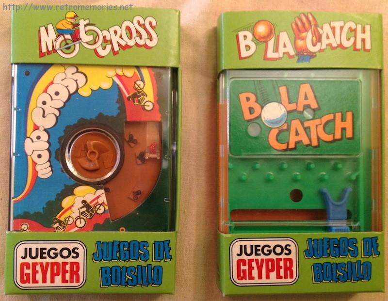 Juegos de bolsillo Geyper - Retro Memories