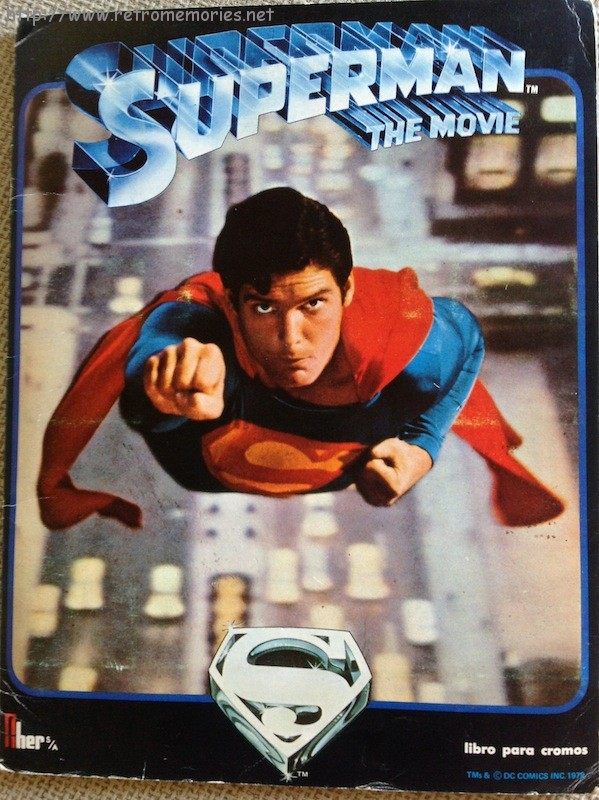 Superman The Movie (álbum de cromos)