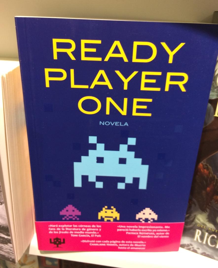 Recomendación para el día del libro: «Ready player one»