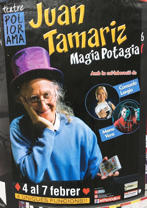 Juan Tamariz, la magia de ver a tus ídolos