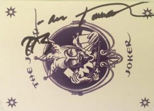 La carta que el maestro me firmó.