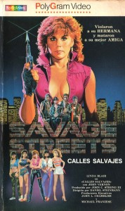 """Linda Blair es una vengadora de lo más macarra en """"Calles salvajes""""."""