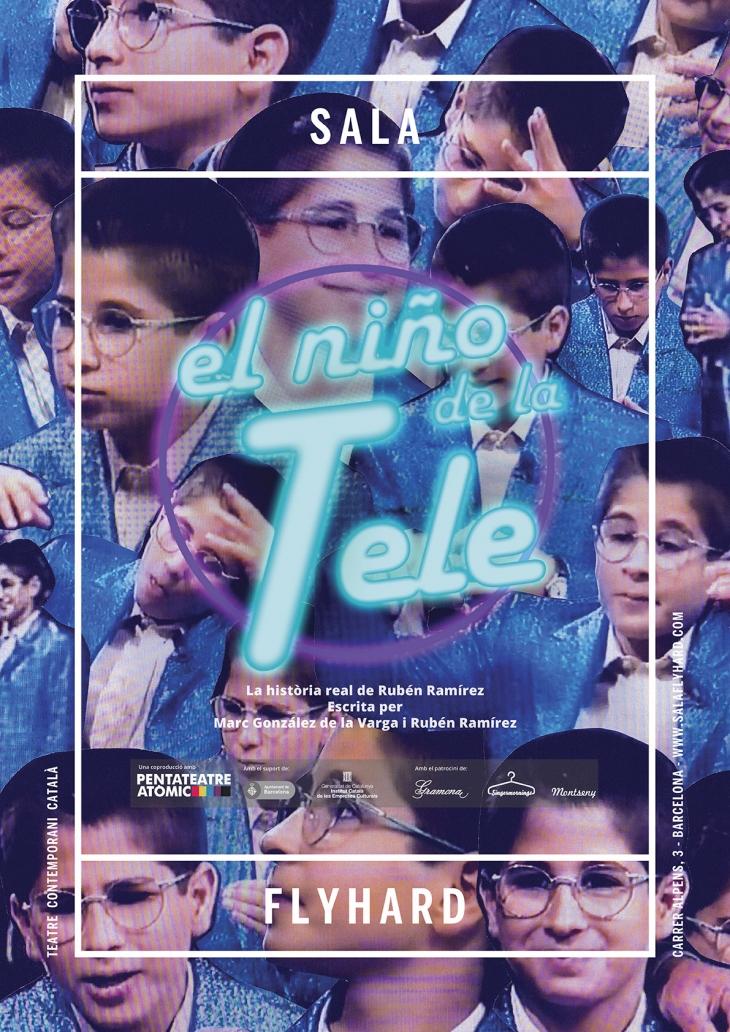 """""""El niño de la tele"""", la obra de teatro que debes ver."""