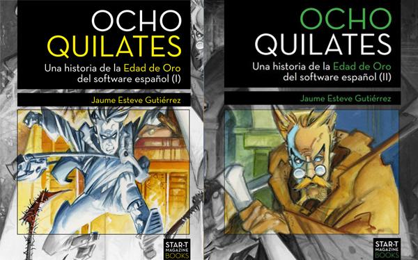 """Recomendación para el día del libro: """"Ocho quilates. Una historia de la Edad de Oro del Software Español»"""