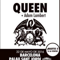 Queen + Adam Lambert (22 de mayo de 2016, Barcelona)