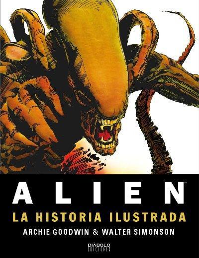 """""""Alien: La historia ilustrada"""", un cómic sobre cierto octavo pasajero"""