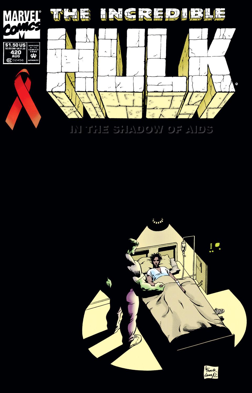 Cuando el increíble Hulk se enfrentó al SIDA