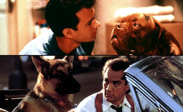 Esos duros policías y sus lindos perritos